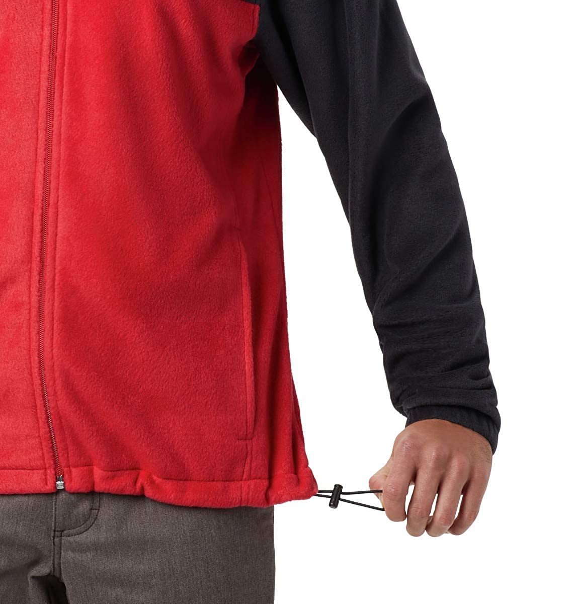 Black Soft Fleece with Classic Fit Mountain red Columbia Mens Steens Full Zip 2.0 4X