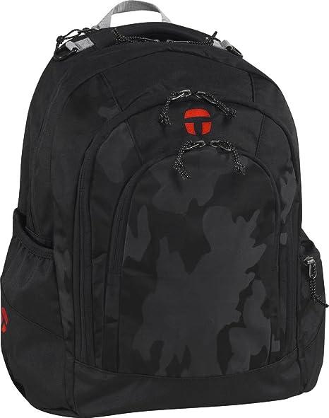 1b0c5d2a1a6 Take It Easy BERLIN School Rucksack Black 495001 camouflage Camo Black):  Amazon.co.uk: Luggage