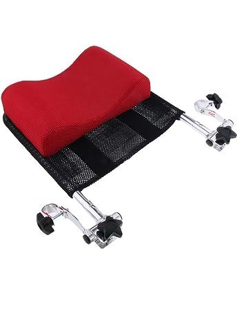 CUTICATE Soporte de Cuello ángulo Ajustable Reposacabezas de Silla de Rueda, silla de baño móvil