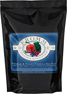 Fromm Four-Star Whitefish & Potato Dry Dog Food, 5-Pound Bag
