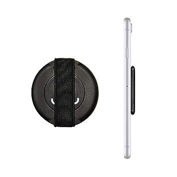 Loopgrip 360 Fingerhalterung Handy Schwarz   Handyhalter Hand   Handy Halter Finger   Smartphone Halterung   Smartphone Finge