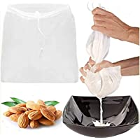 Pro Quality Nut Milk Bag, 12 x12 inches Bags - Commercial Grade Reusable All Purpose Food Strainer - Food Grade BPA-Free…