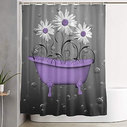 Wood panel plank wall Shower Curtain Bathroom Decor Fabric /& 12hooks 71*71inches