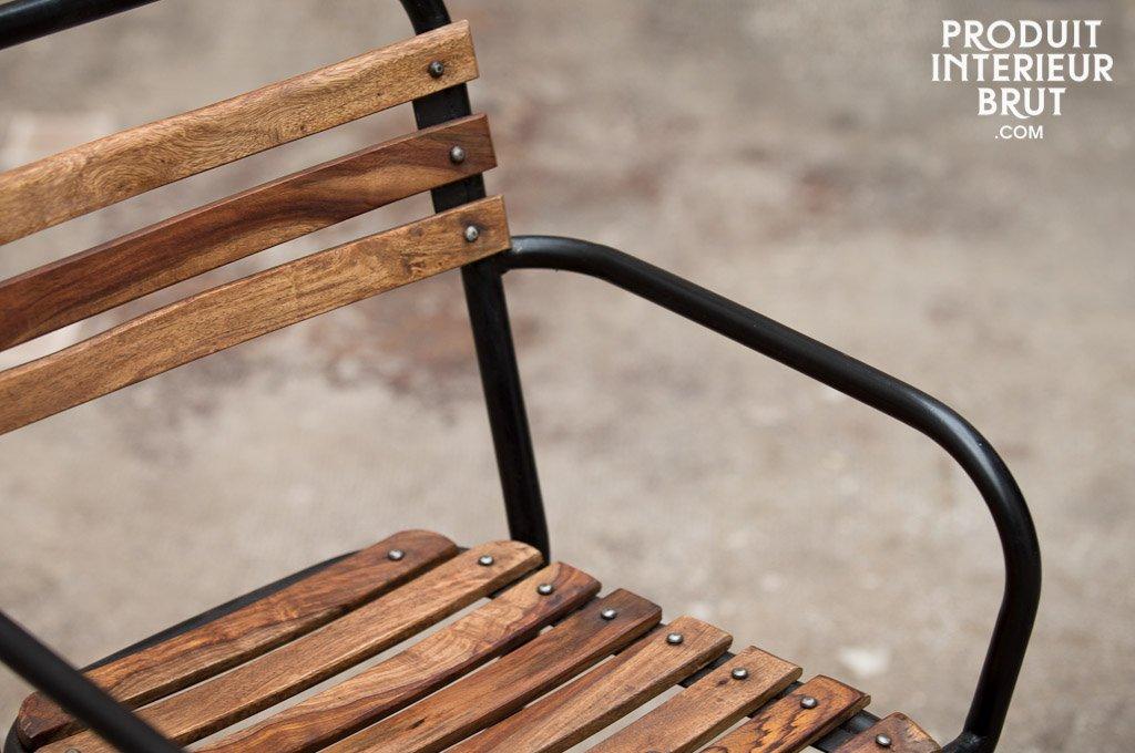 pib - Sillas - Silla Mistral de diseño Industrial con reposabrazos ...