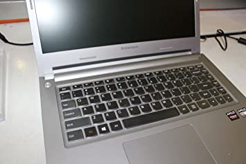 Folox Thin Transparent Waterproof TPU Keyboard Protector Cover for or Lenovo IdeaPad U300 U300s U310 Z400 P400 S300 S400 S405 Yoga 13-Ifi, Yoga 2 13