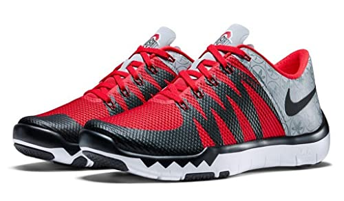 Image Unavailable. Image not available for. Colour  Nike Free Trainer 5.0  V6 AMP  Ohio State Buckeyes  Wolf Grey Black University Red ee0fa61de6