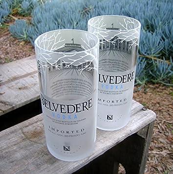 Belvedere Vodka Rocks Glasses Set Of 2 Great Gift Interior Design