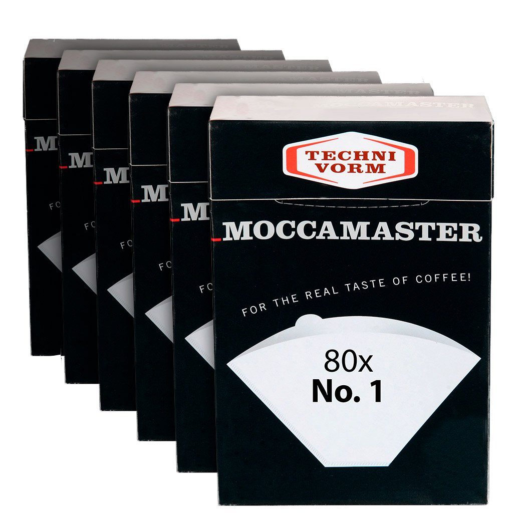 Technivorm Moccamaster 85090 Cup-One Filters Paper, White (6) ... by Technivorm Moccamaster