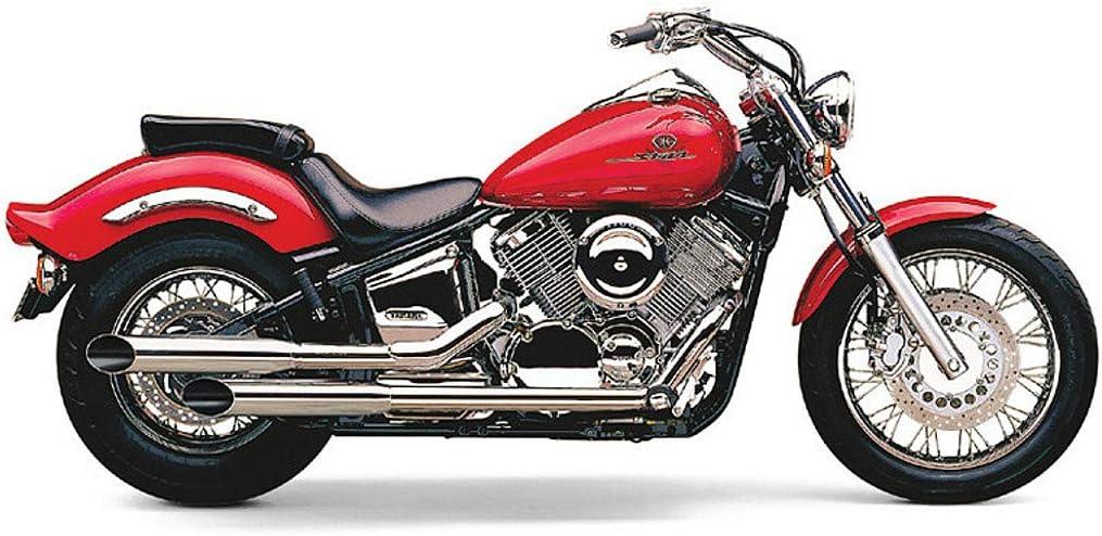 Cobra Classic Deluxe Slashcut Exhaust for 04-09 Yamaha XVS11A