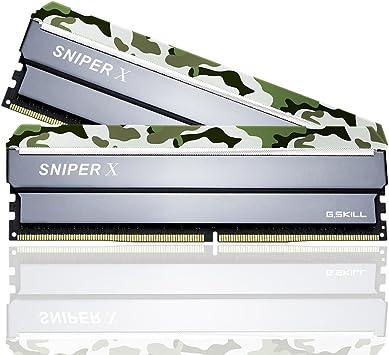 G Skill Ddr4 16gb Pc 3200 Cl16 Kit 2x8gb 16gsxfb Sniper Elektronik