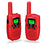 Amazon Price History for:Walkie Talkies for Kids, 2-way Radios Rechargeable 3 Miles (Up to 5Miles) FRS/GMRS Handheld Mini Walky Talky for Kids, Electronic Toys Gifts For Girls/Boys (Red)