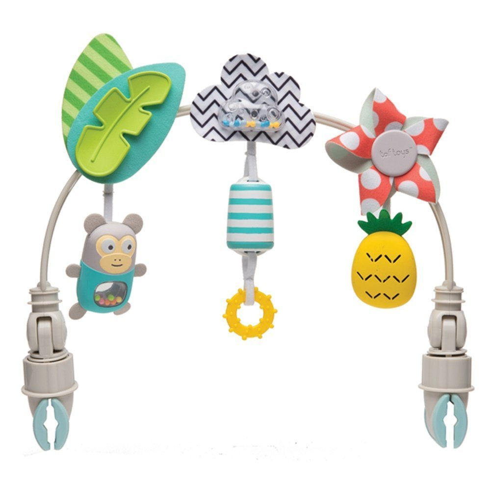 Taf Toys 'Tropical Orchestra Arch' | Ideal For Infant & Toddlers Fits Stroller & Pram Activity Arch With Fascinating Toys Stimulates Baby's Senses And Motor Skills Development Easier Outdoors [並行輸入品]   B074VB83VQ
