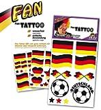 Fritz Fries - Deutschland Tattoos, sortiert