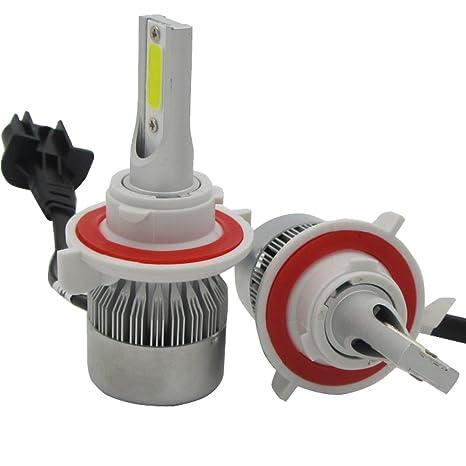 Amazon.com: SHINA H13 LED Hi-Lo Dual Beam Headlight Conversion Kit Bulb Driving Lamp 6000K: Automotive