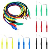 Sumnacon 5 Color 20 Pcs Identified Automotive Back Probe Lead Set - 15 Pcs 3 Configurations 30V Back Probe Pin + 5 Pcs…