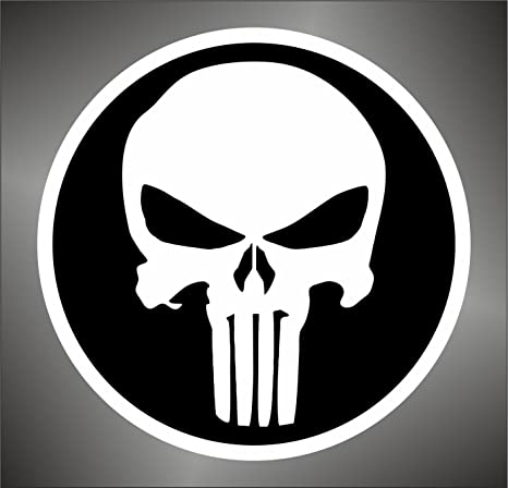 Graphic-Lab - Adhesivo The Punisher Skull de PSP y Xbox ...