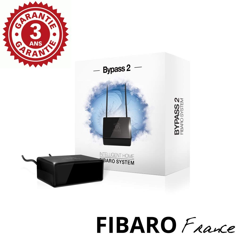 Bypass variateur pour Faible Charge FF FGB-002 FIBARO Bypass 2