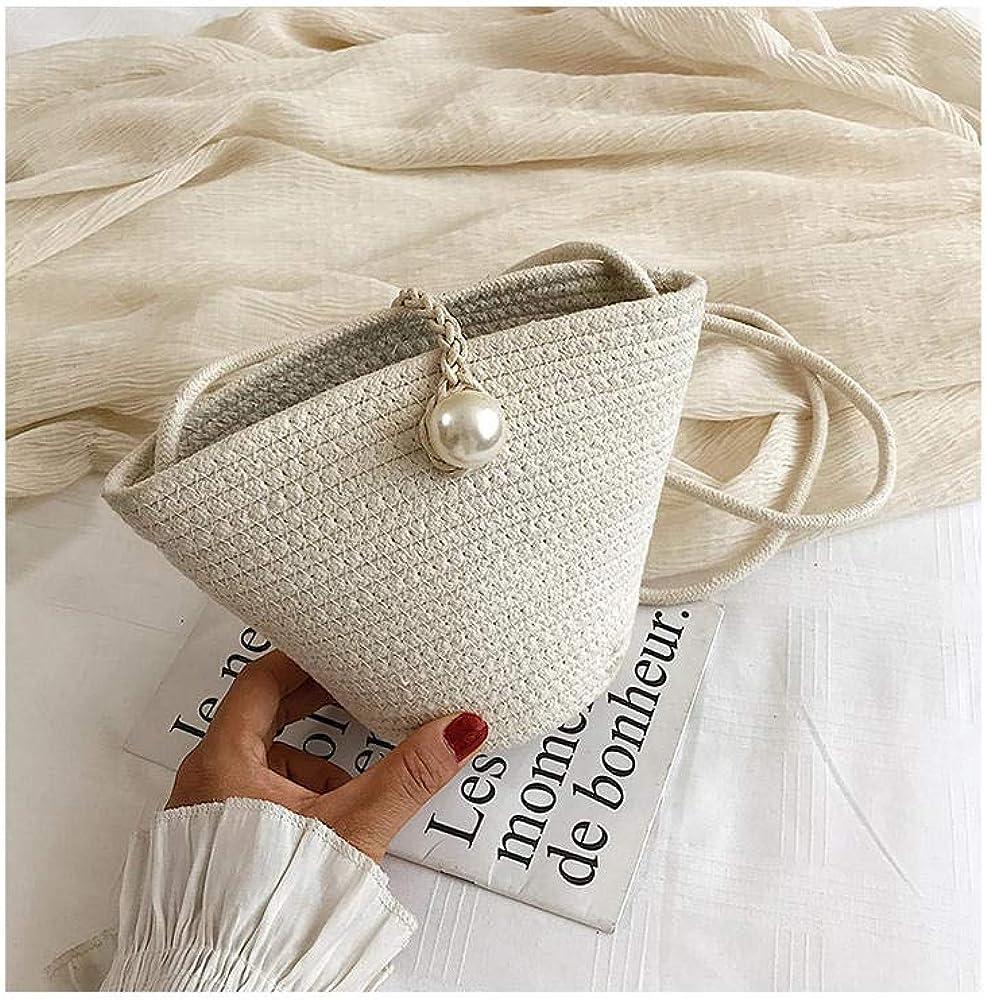 Women's Straw Bag Woven...