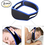 Snoring Solution Anti Snoring Chin Strap,Snore Reduction Chin Strips, Stop Snoring, Adjustable Snore Relief Chin Strap