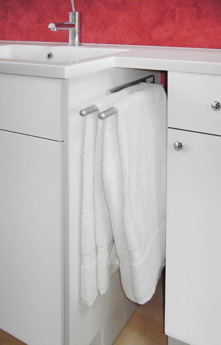 Handtuchhalter Aluminium 2 armig Amazon Küche & Haushalt