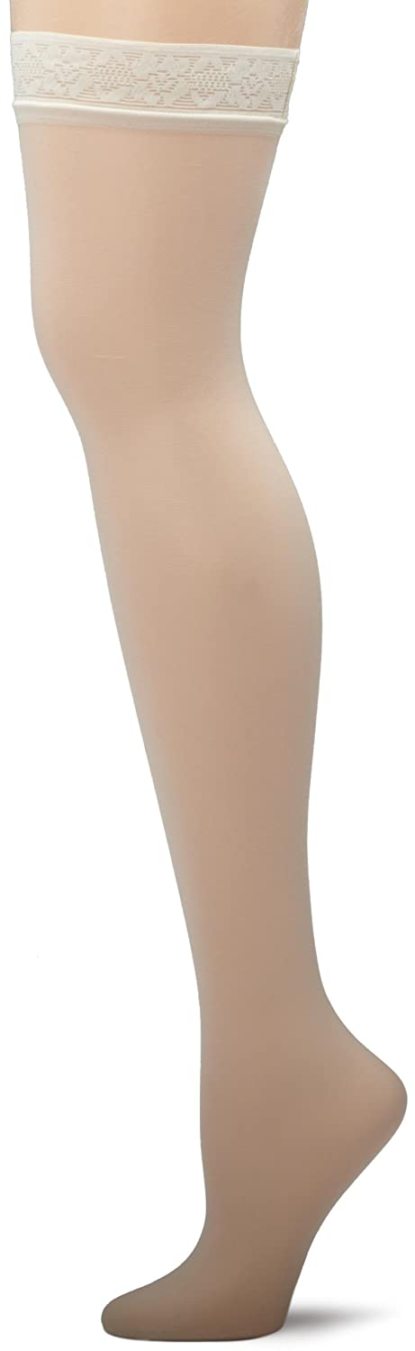 5551e4258c5 Hanes Women s Silk Reflections Thigh-High Stockings at Amazon Women s  Clothing store  Thigh High Stockings