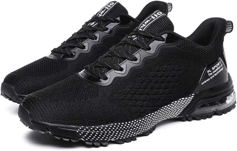 ZPAWDH Zapatillas Running Hombre Aire Libre y Deportes Ligero Transpirables Casual Zapatos Gimnasio Sneakers(Black,38EU: Amazon.es: Zapatos y complementos