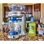 Margaritaville Key West Frozen Concoction Maker with Easy Pour Jar and XL Ice Reservoir 13 Makes up to 2.5 pitchers of frozen concoctions thanks to its extra-large ice reservoir Creates premium shaved ice rather than crushed ice like a blender, for an authentic frozen concoction experience. Key West Frozen Concoction Maker with 36-ounce blending jar for creating fun, tropics-inspired party drinks Includes 4 pre-programmed drink settings, plus automatic shave 'n blend cycle and manual blend only/shave only cycles