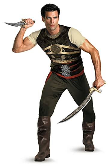 Prince of Persia Dastan Adult Costume - X-Large  sc 1 st  Amazon.com & Amazon.com: Prince of Persia Dastan Adult Costume - X-Large: Clothing