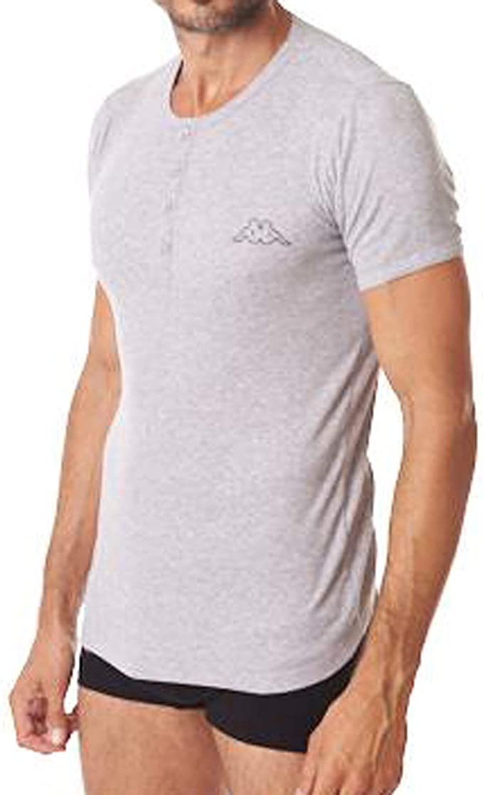 Kappa Rippshirt Camiseta Ajustada para Hombre con Tapeta ...
