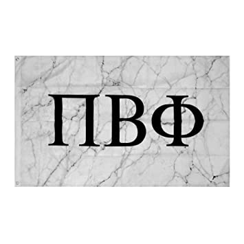 amazon com pi beta phi light marble sorority letter flag banner 3 x