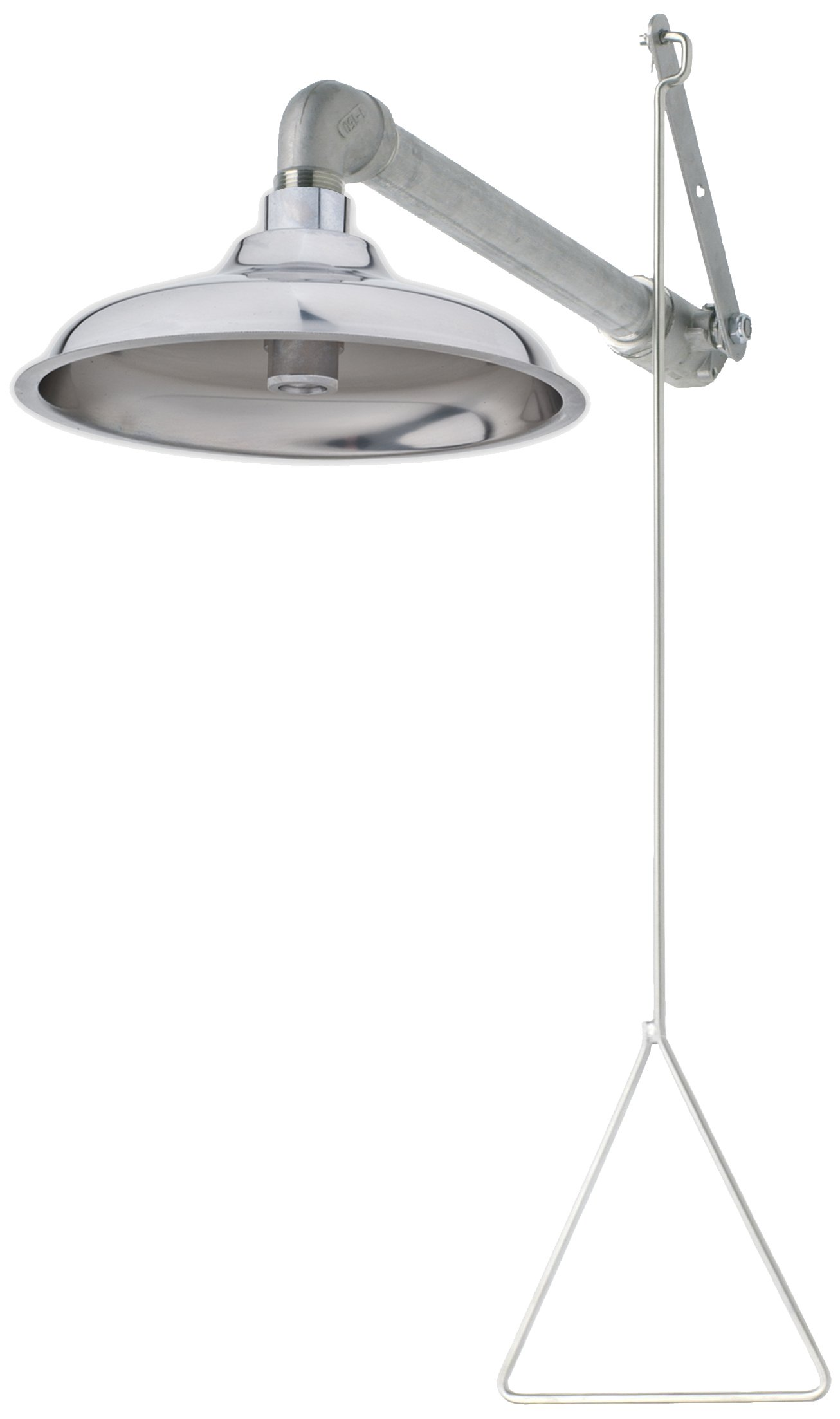 Haws 8133H Horizontal Overhead Drench Shower with Axion MSR Stainless Steel Showerhead