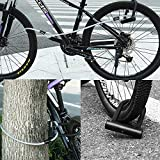 Ulock Bike Lock Cable Double Loops Bicycle Cable