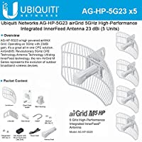 AirGrid M5 23dBi 5-pack