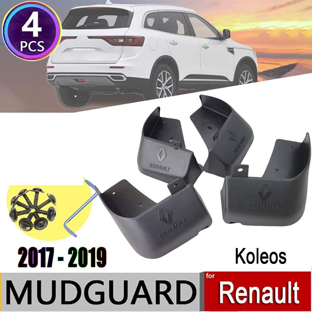 Adatti per paraspruzzi Renault Koleos 2017-2019,Modello di Auto Originale pi/ù Adatto e Protegge la Tua Auto parafanghi protettivi per parafango 4 Pezzi LAUTO Parafanghi per Auto