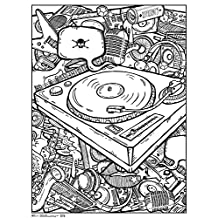 Sandylion RPAZ343 Turntable Coloring Poster 18 x 24""