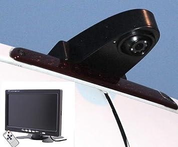 Noyes Komplettset Rückfahrkamera Transporter Mit 7 Monitor Und 15m Spezialkabel Sprinter Crafter Ducato Transit Und Viele Typen Mehr Transporterkamera Auto