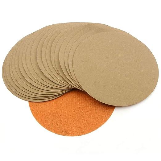 "4/""100mm Hook/&Loop Wet//Dry Sanding Disc Sandpaper 996A 60-10000# Grit Polishing"