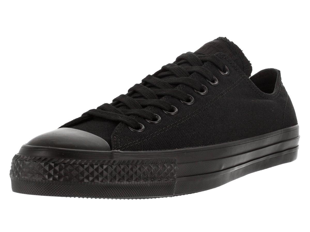 Converse Unisex Chuck Taylor All Star Pro Ox Black/Black Skate Shoe 13 Men US