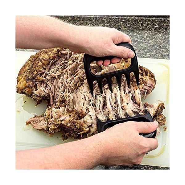 HPPL2PC / Set Orsi di Orso Pinze per forchette per Barbecue Tirare Carne Braciole di Maiale Pinza per arrosto Forchetta… 3 spesavip