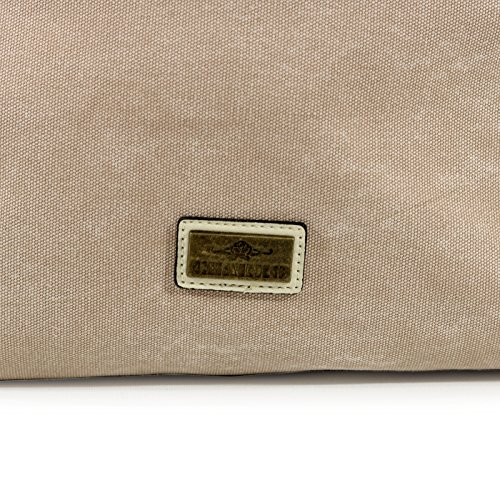 Charro Bag Bolso Para For Beige Beige Larghezza Beige Base Mujer Larghezza Women Al 18cm Altezza Charro 38cm; Altezza 18cm Basis; 35cm 35cm; 38cm; Hombro Beige Shoulder ztdqPYw