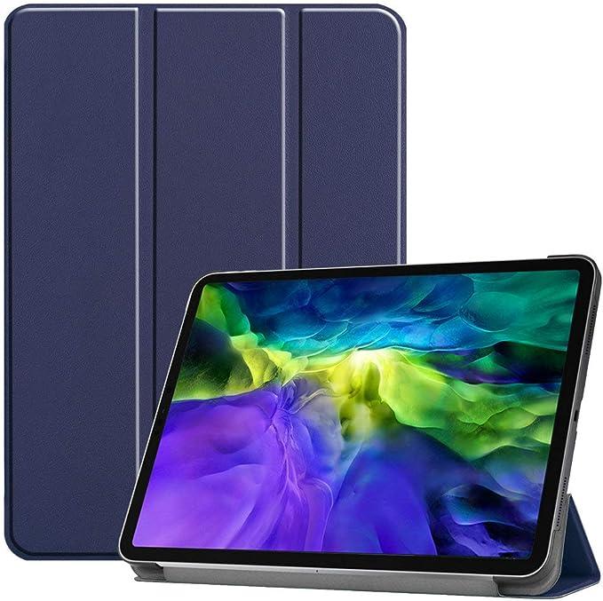 Kepuch Custer Funda para iPad Pro 11 2020 2018,Slim Smart Cover Fundas Carcasa Case Protectora de PU-Cuero para iPad Pro 11 2020 2018 - Azul: Amazon.com.mx: Electrónicos