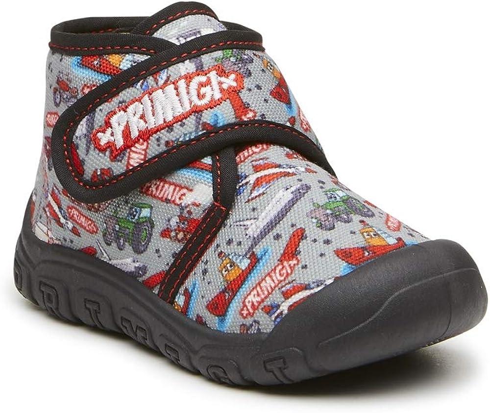 cortesía Física Inseguro  PRIMIGI 4445033 moppine Pantofole Bambino Primi Passi Tessuto: Amazon.it:  Scarpe e borse