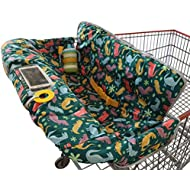 Shopping Cart Cover for Baby or Toddler | 2-in-1 High...
