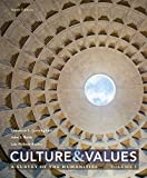 img - for 1: Culture and Values: A Survey of the Humanities, Volume I book / textbook / text book