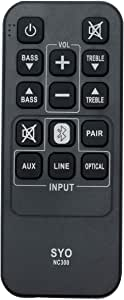 NC300 NC300UH Replacement Remote Control Applicable for Sanyo FWSB405FS FWSB405F Soundbar Home Audio System