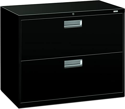 Hon 2 Drawer Filing Cabinet 600 Series Lateral Legal Or Letter File Cabinet Black H682 Furniture Decor