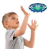 AMERTEER Hand Operated Drone for Kids Toddlers Adults - Hands Free Mini Drones for Kids Flying Toys Gift for Boys and…
