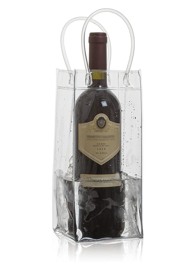 Amazon.com: Bolsa de plástico para enfriar botellas de vino ...