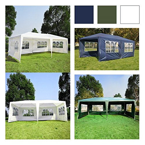Belleze-10×20-Canopy-w-4-Removable-Side-Wall-Party-Wedding-Tent-Cater-Event-Outdoor-UV-Cover-PE-Joint-Powder-Coat