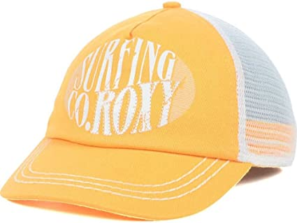 Amazon.com  Roxy Women s So Local Surfing Orange Trucker Snapback ... 51774749afa